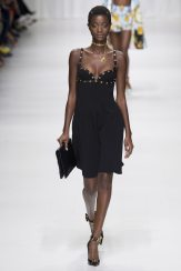 Oumie Jammeh - Versace Spring 2018 Ready-to-Wear