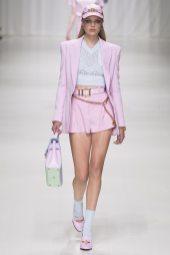 Chane Husselmann - Versace Spring 2018 Ready-to-Wear