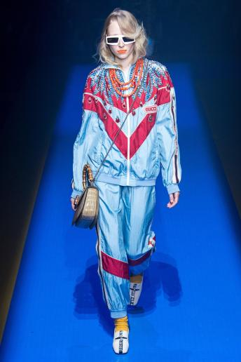 Alina Pavlushova - Gucci Spring 2018 Ready-to-Wear