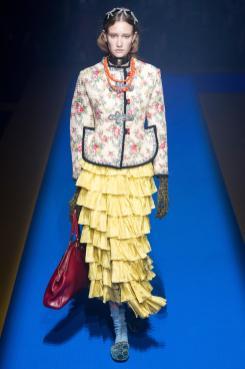 Sofie Van den Bogaert - Gucci Spring 2018 Ready-to-Wear