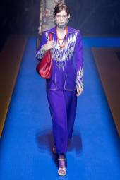 Anka Kuryndina - Gucci Spring 2018 Ready-to-Wear