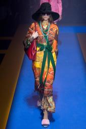 Liza Shubarina - Gucci Spring 2018 Ready-to-Wear