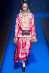 Aaliyah Hydes - Gucci Spring 2018 Ready-to-Wear