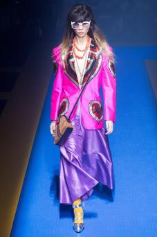 Ruoyang He - Gucci Spring 2018 Ready-to-Wear