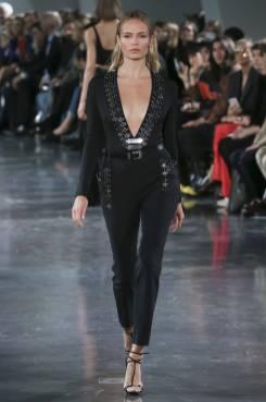 Natasha Poly - Mugler Spring 2018 Ready-to-Wear