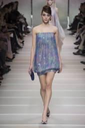 Romy Schonberger - Armani Privé Spring 2018 Couture