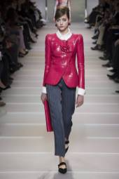 Lia Pavlova - Armani Privé Spring 2018 Couture