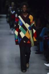 Yacine Keita - Burberry Spring 2018 Ready-to-Wear