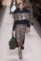 Ansolet Rossouw - Fendi Fall 2018 Ready-to-Wear