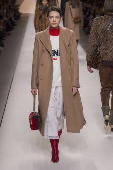 Loane Normand - Fendi Fall 2018 Ready-to-Wear
