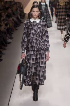 Matea Brakus - Fendi Fall 2018 Ready-to-Wear