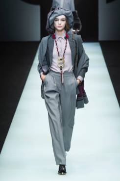 Paulina Frankowska - Giorgio Armani Fall 2018 Ready-to-Wear