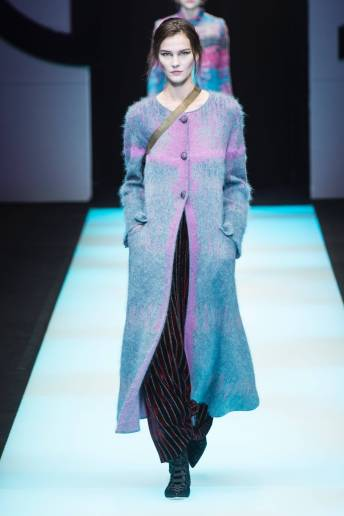 Magdalena Chachlica - Giorgio Armani Fall 2018 Ready-to-Wear