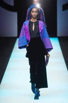 Tami Williams - Giorgio Armani Fall 2018 Ready-to-Wear