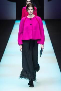 Katya Bybina - Giorgio Armani Fall 2018 Ready-to-Wear