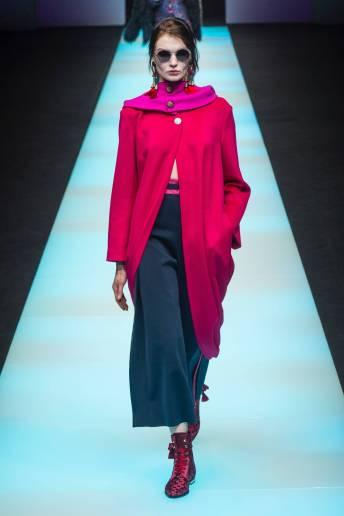 Alexandra M - Giorgio Armani Fall 2018 Ready-to-Wear