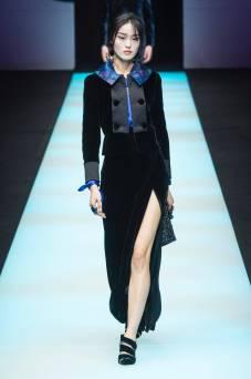 Yue Han - Giorgio Armani Fall 2018 Ready-to-Wear