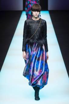 Sara Soric - Giorgio Armani Fall 2018 Ready-to-Wear