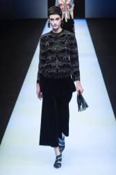 Sarah Boursin - Giorgio Armani Fall 2018 Ready-to-Wear
