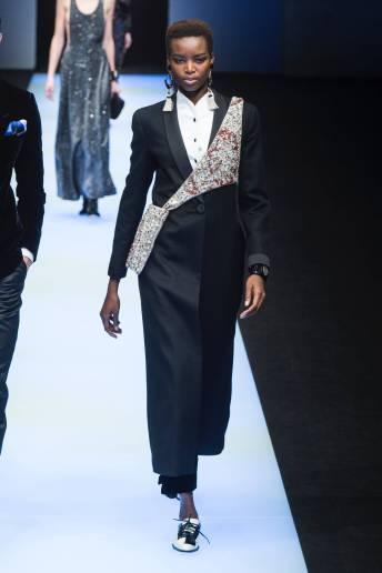 Maria Borges - Giorgio Armani Fall 2018 Ready-to-Wear