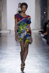 Imari Karanja - Versace Fall 2018 Ready-to-Wear