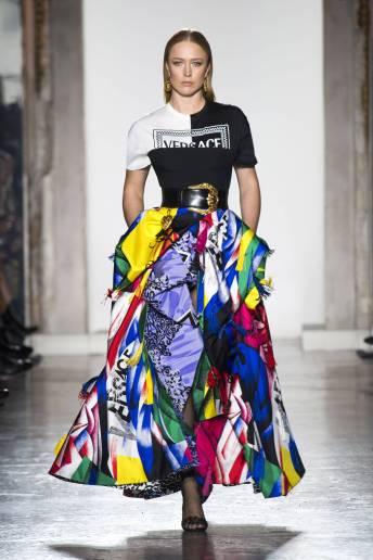 Raquel Zimmermann - Versace Fall 2018 Ready-to-Wear