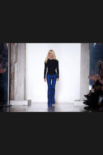 Donatella Versace - Versace Fall 2018 Ready-to-Wear