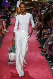 Herieth Paul - Brandon Maxwell - Spring 2019 Ready-to-Wear