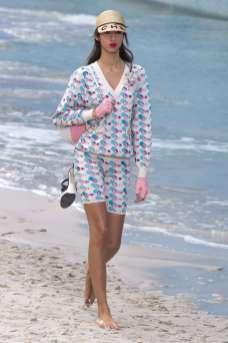 Yasmin Wijnaldum - Chanel Spring 2019 Ready-to-Wear