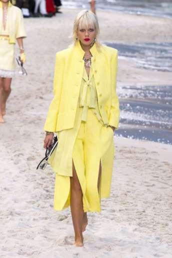 Marjan Jonkman - Chanel Spring 2019 Ready-to-Wear