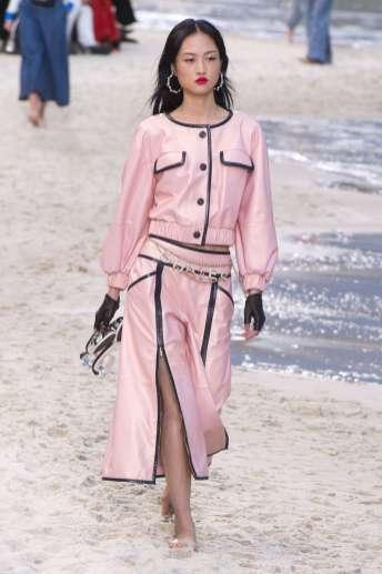 Jing Wen - Chanel Spring 2019 Ready-to-Wear
