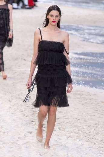 Leila Goldkuhl - Chanel Spring 2019 Ready-to-Wear