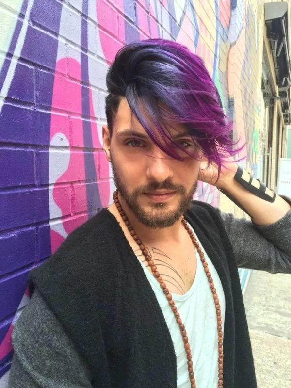 colores-para-el-cabello-hombres-dos-colores