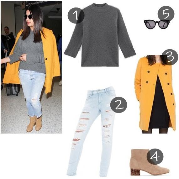 Recrie o look de Priyanka Chopra