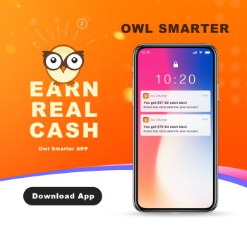 OwlSmarter Cash Back APP