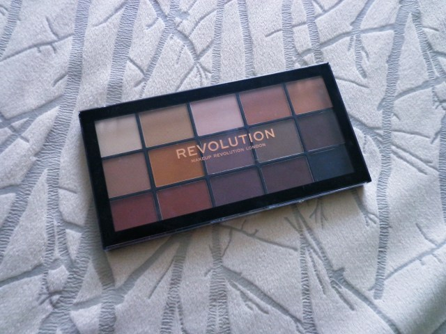 Makeup Revolution Re-Loaded: a minha paleta de sombras mate