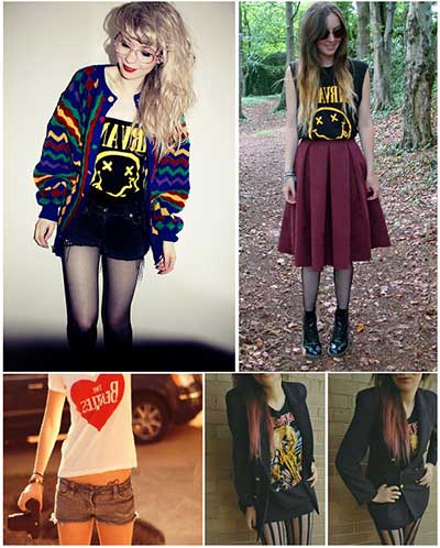 Camisetas Femininas De Rock Personalizadas E Customizadas