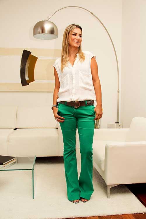 imagens de calças verdes