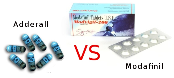 adderall vs modafinil