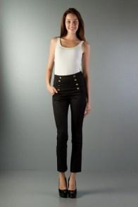 siyah yuksek bel pantolon
