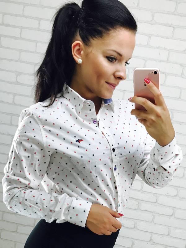 Koszula Dotsy biała
