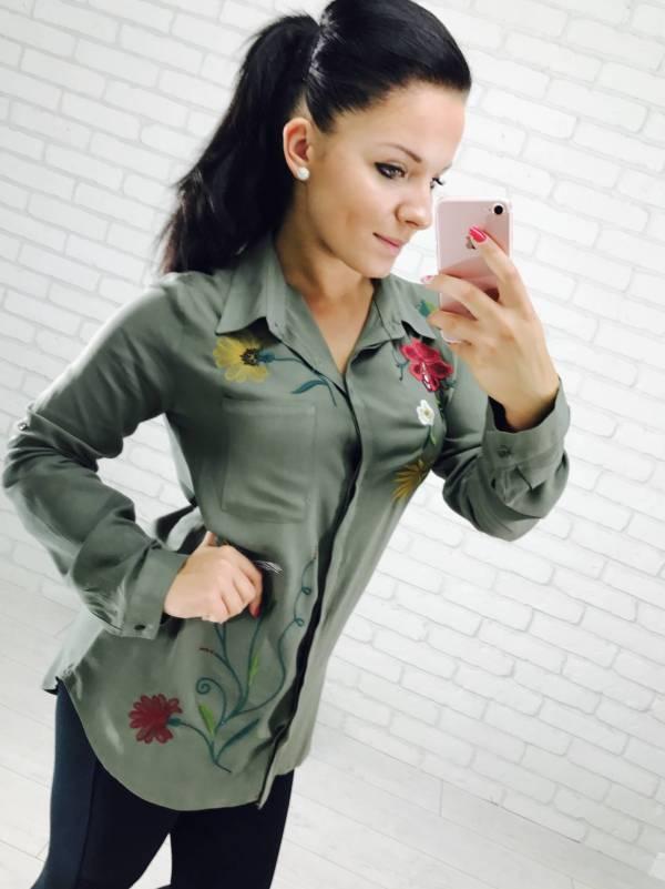 Koszula Misam zielona