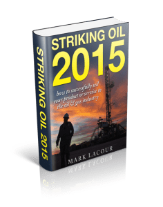 Striking Oil 2015