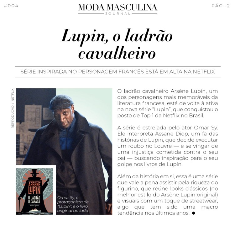Moda Masculina Journal #004