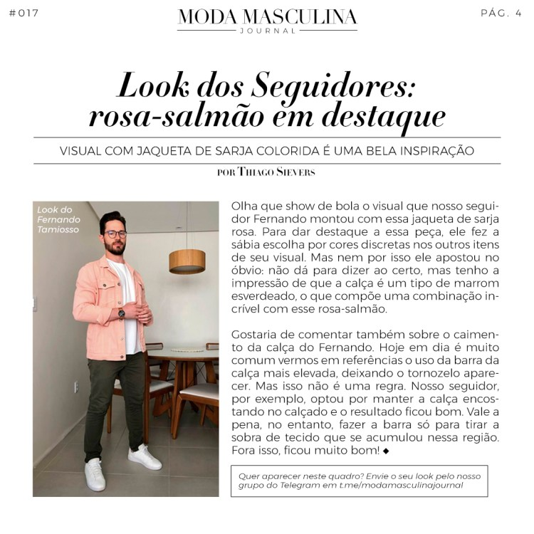 Moda Masculina Journal #017