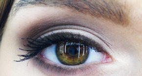 Oeil avec âge suspendu