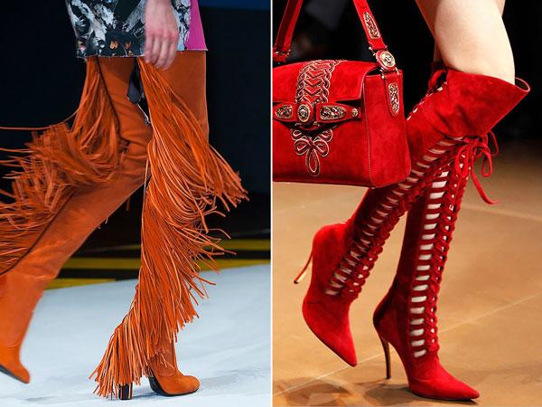 3c5ad2cfd8f Γυναικεία υποδήματα χειμώνα. Μοντέρνες μπότες με τακούνια και ...