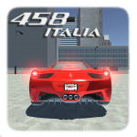 458 Italia Drift Simulator:Car Game Racing 3D-City 1 Mod Download – for android