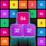 X2 Blocks – Merge Puzzle 2048 Mod Apk Download for android