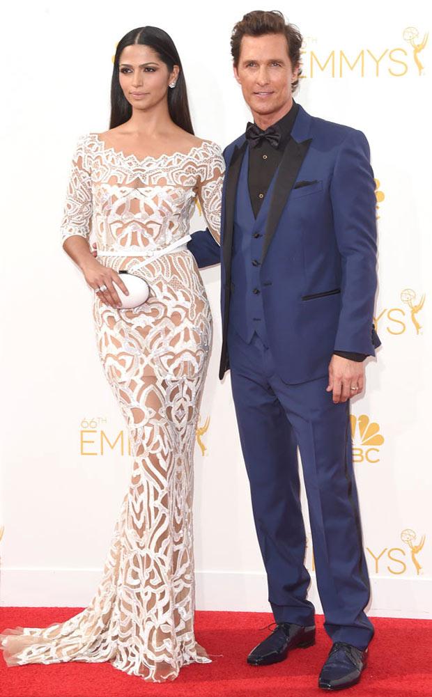 McConaughey e Camila Alves